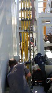 Remplacement des câbles d'élinde sur l'André L (DTM)